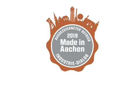 Made in Aachen 2019 Siegel